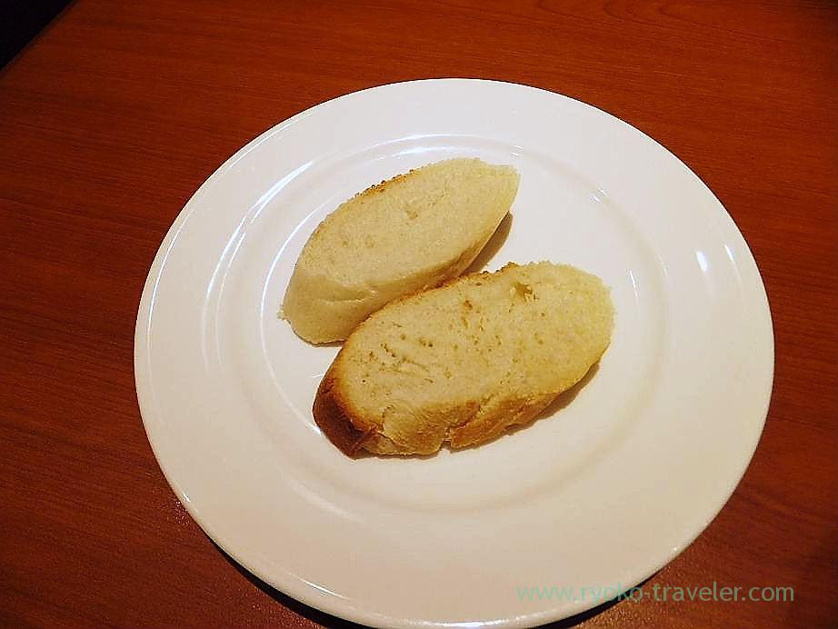 Bread, Trattoria la scarpetta (Ichigaya)
