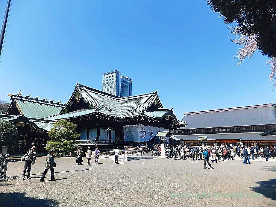 Cherry blossoms festival 1, Yasukuni Jinja shrine (Ichigaya)