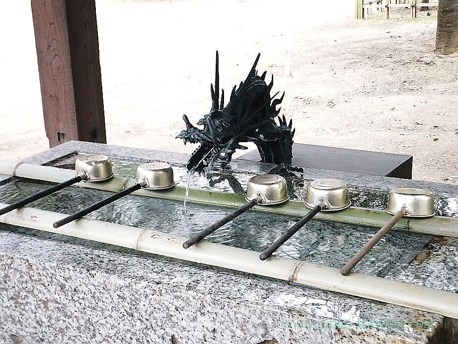 Chozuya, Katsushika Hachimangu shrine (Motoyawata)