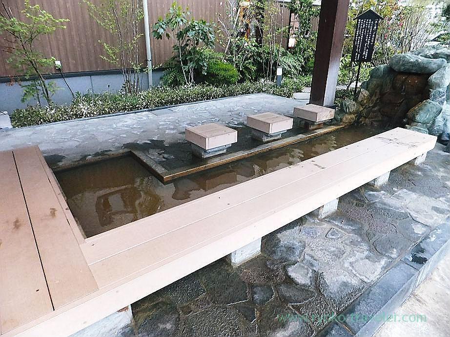Foot bath, Midorinoyu Takinoi branch (Takinoi)