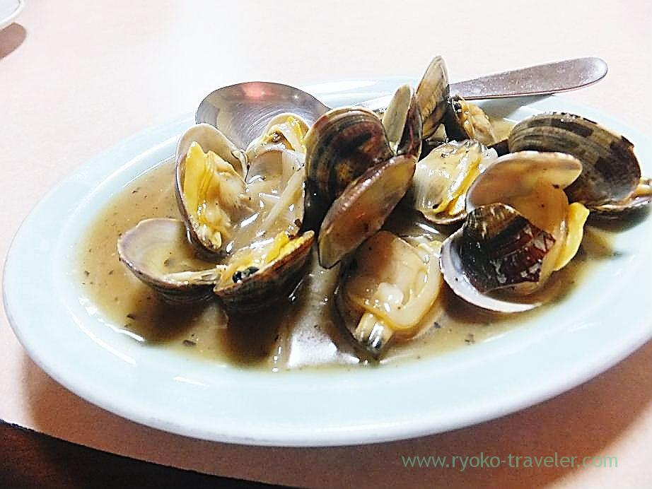 Fried asari clam with oyster sauce, Anki (Ishikawacho)