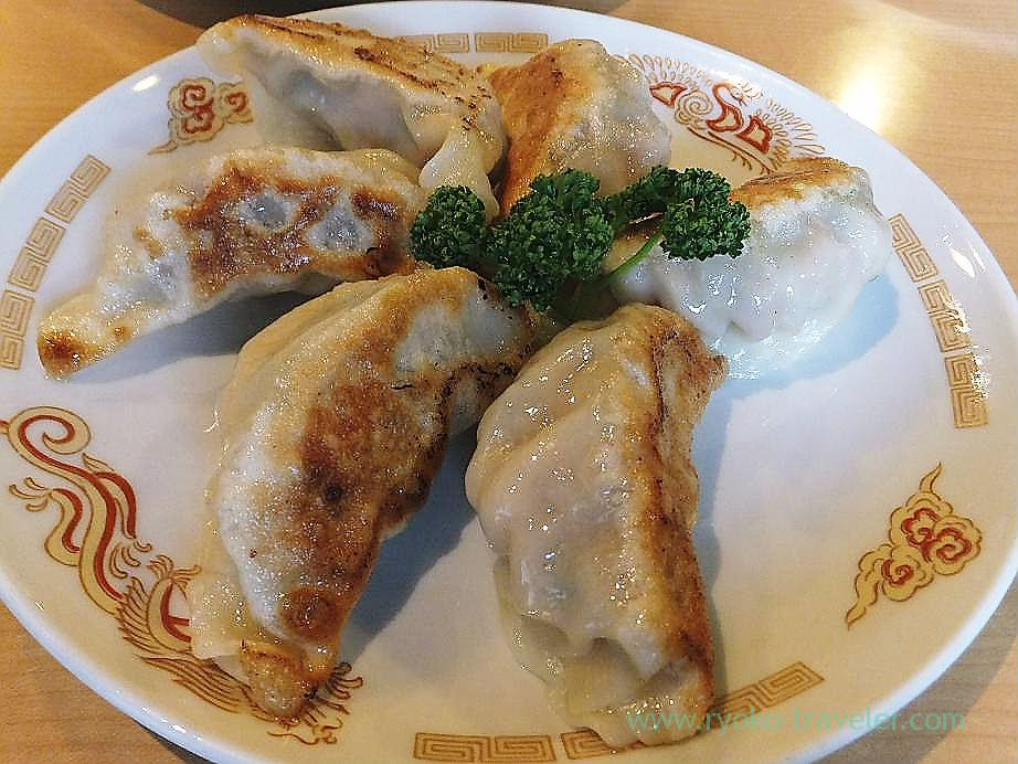 Grandmother's fried gyoza, Yumisai (Ishikawacho)