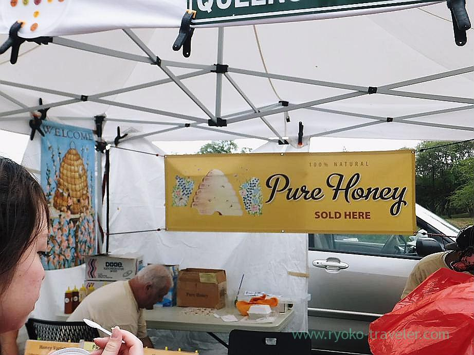 Honey shop, Kcc Farmers Market, Honolulu(Honolulu 2012 winter)