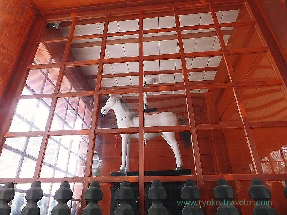 Horse, Katsushika Hachimangu shrine (Motoyawata)