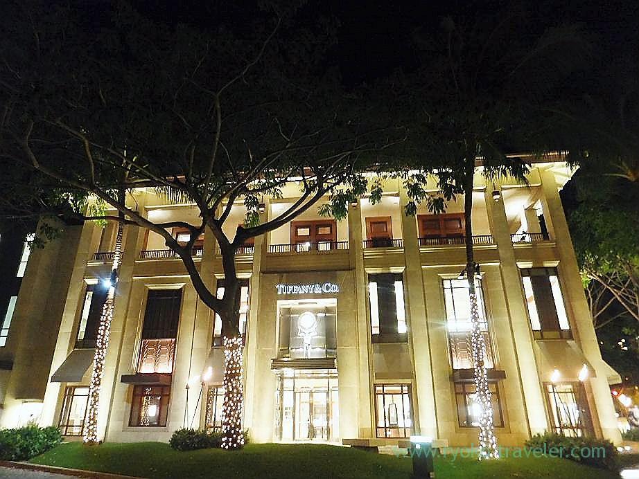 Illumination, Tiffany, Waikiki(Honolulu 2012 winter)