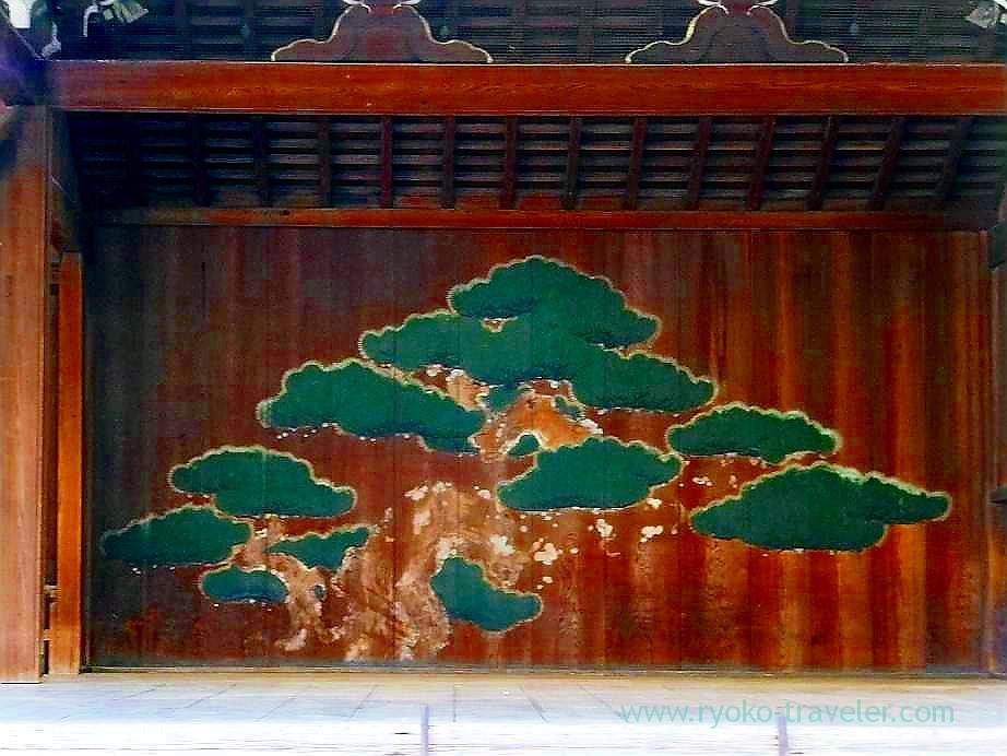 Matsu no butai Stage, Yasukuni Jinja shrine (Ichigaya)