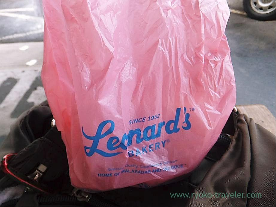 Pink shopping bag, Lenard's,  Honolulu(Honolulu 2012 winter)