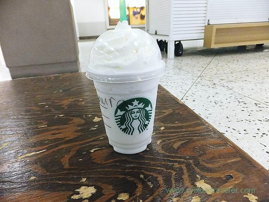 Vanilla latte, Starbucks Honolulu international airport branch(Honolulu 2012 winter)