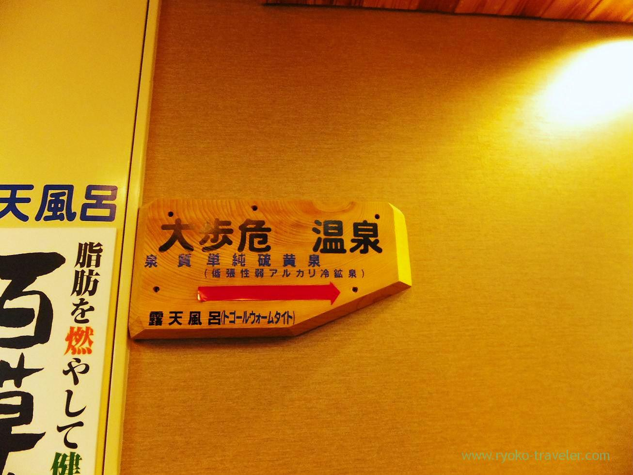 Bathroom, Hotel mannaka, Oboke (Kagawa & Tokushima 2011)