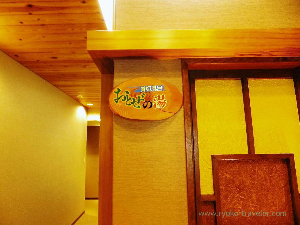 Family bath, Hotel mannaka, Oboke (Kagawa & Tokushima 2011)