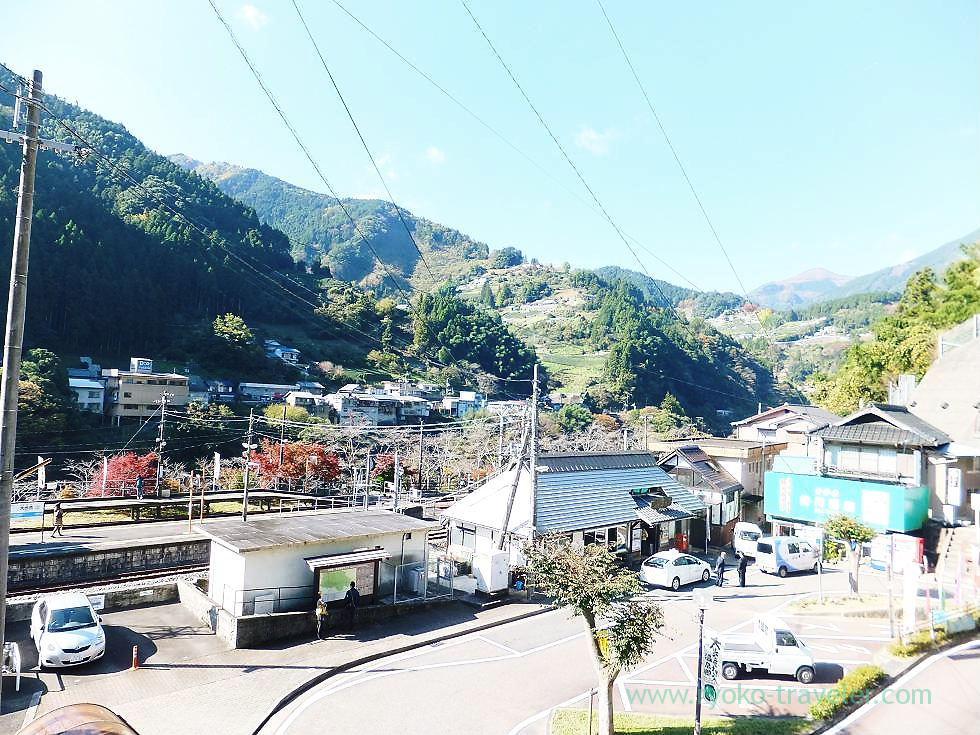 From upper position, Oboke station, Oboke (Kagawa & Tokushima 2011)