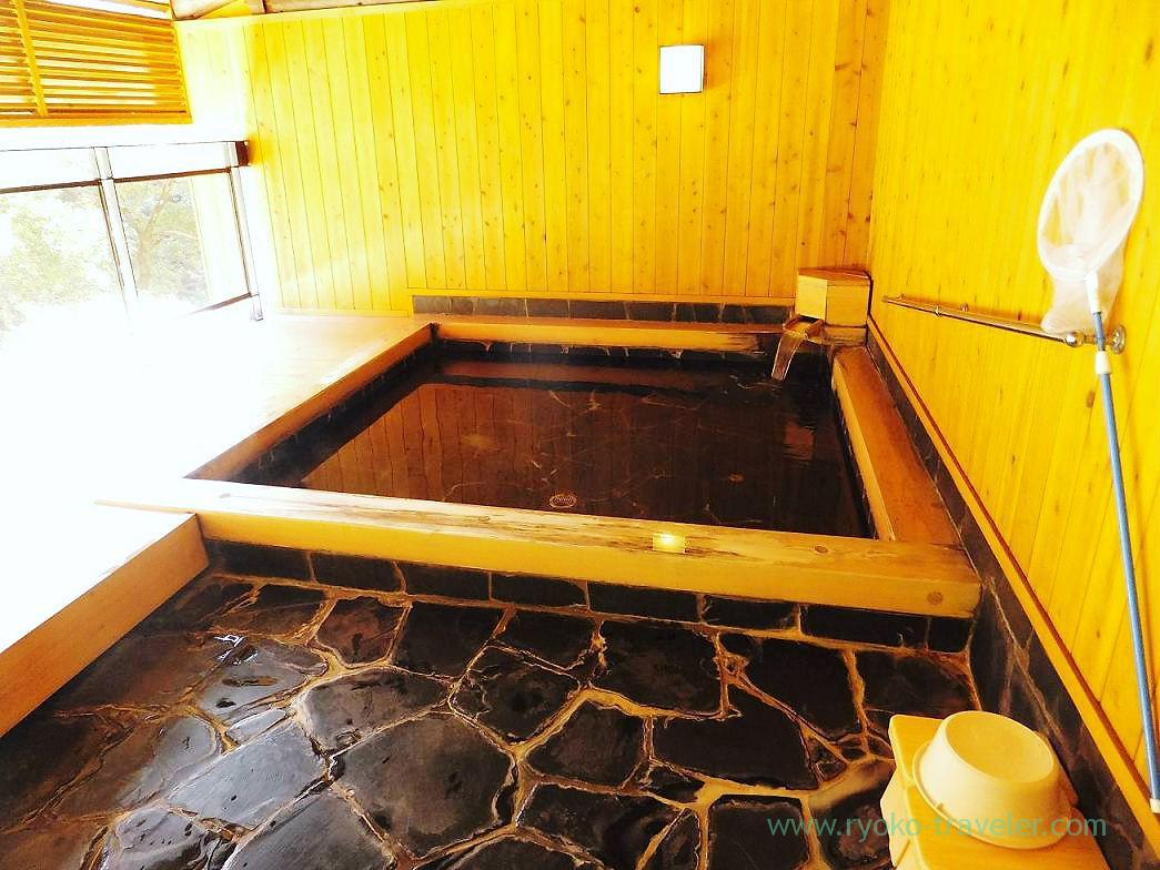 Open-air bath2, Hotel mannaka, Oboke (Kagawa & Tokushima 2011)