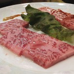 Kameido : Salted beeftongue and high quality beefmeat at Kan