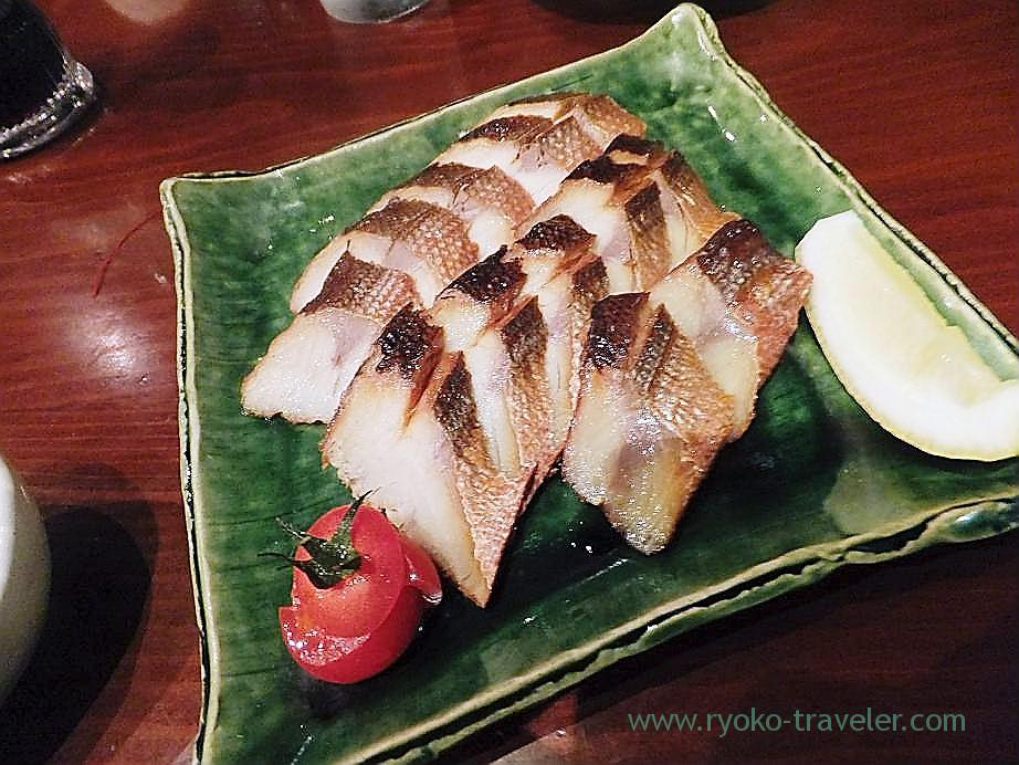 Smoked barracuda, Yamadaya (Tsukiji)