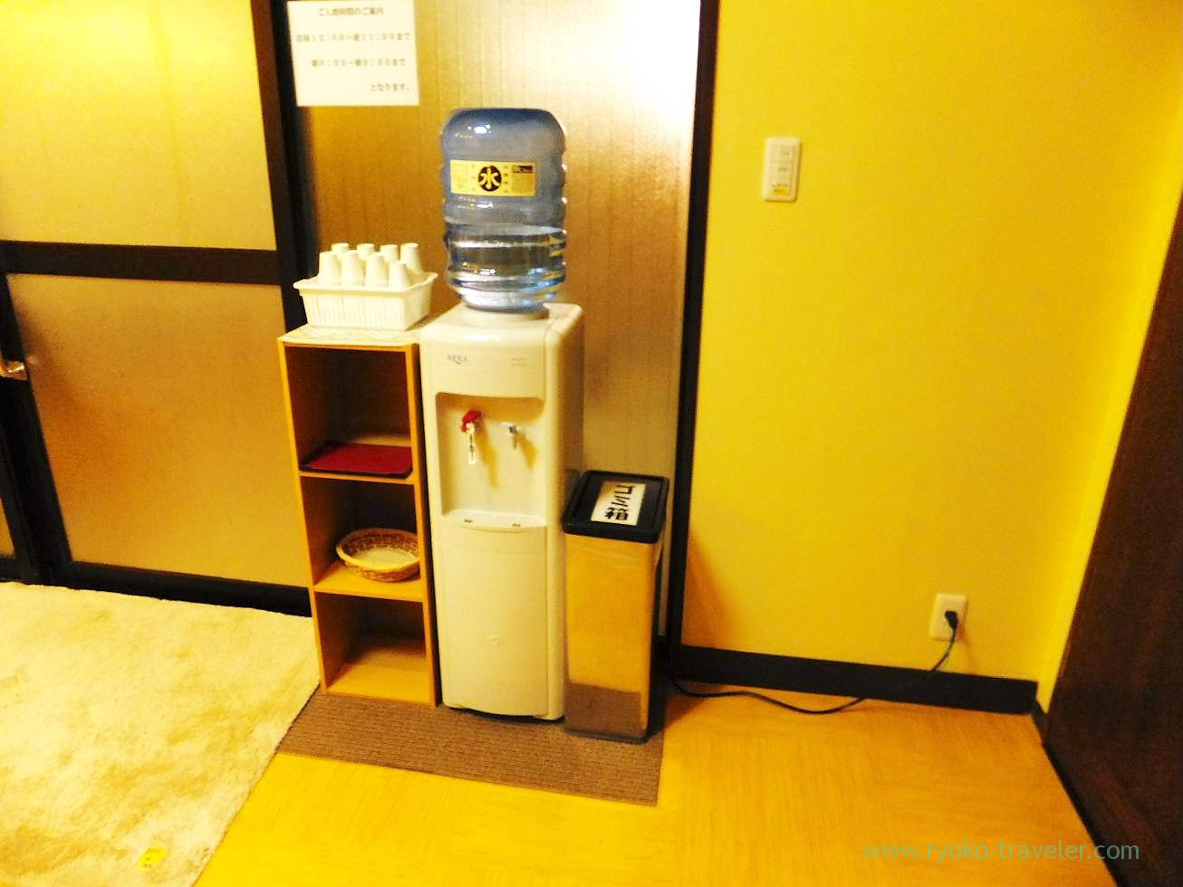 Water tank, Hotel mannaka, Oboke (Kagawa & Tokushima 2011)
