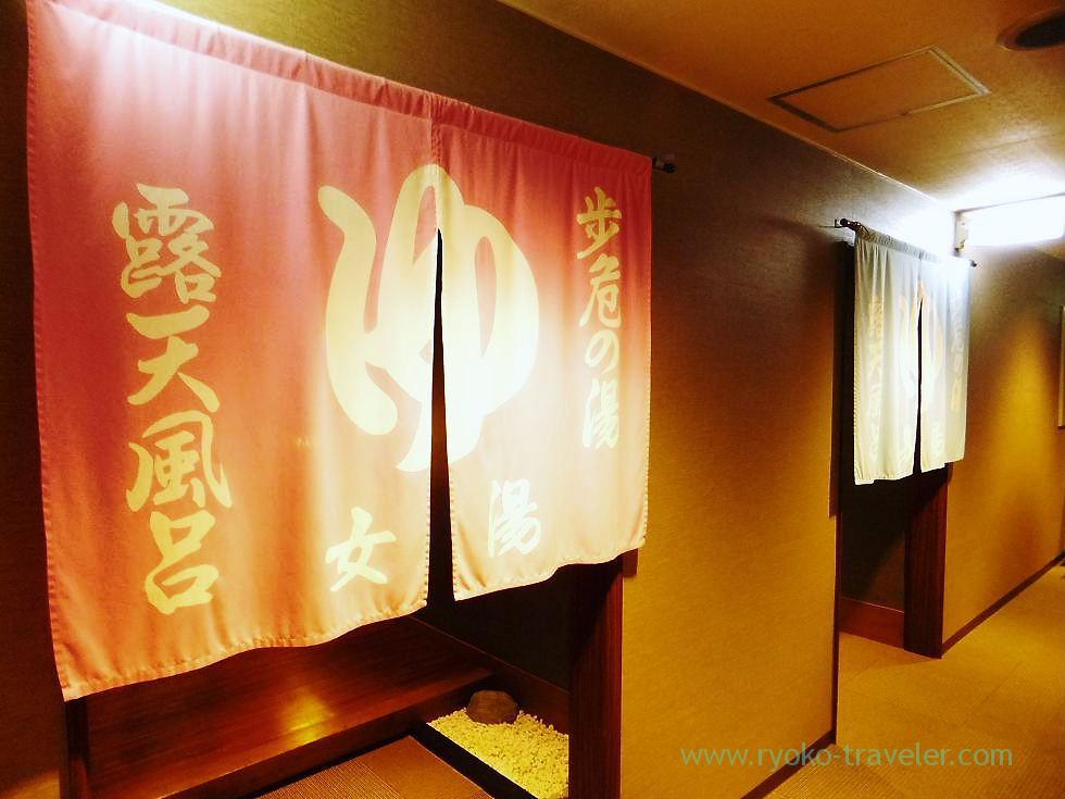 Womens bath, Hotel mannaka, Oboke (Kagawa & Tokushima 2011)