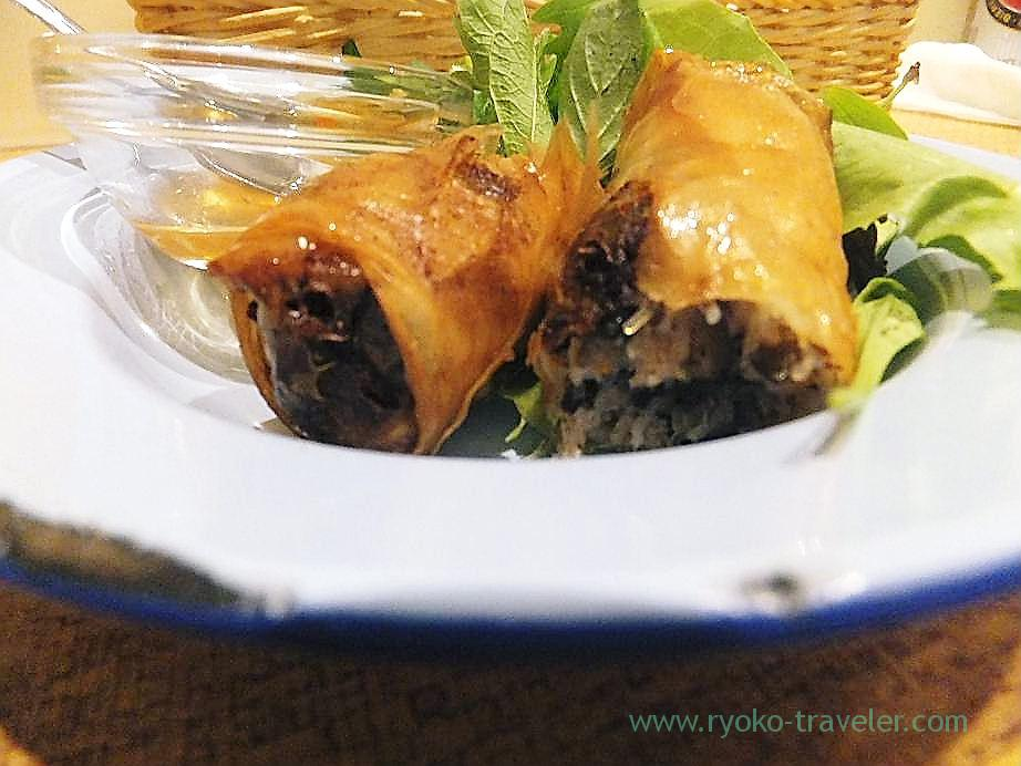 Chefs special spring roll, Authentic (Asakusa)