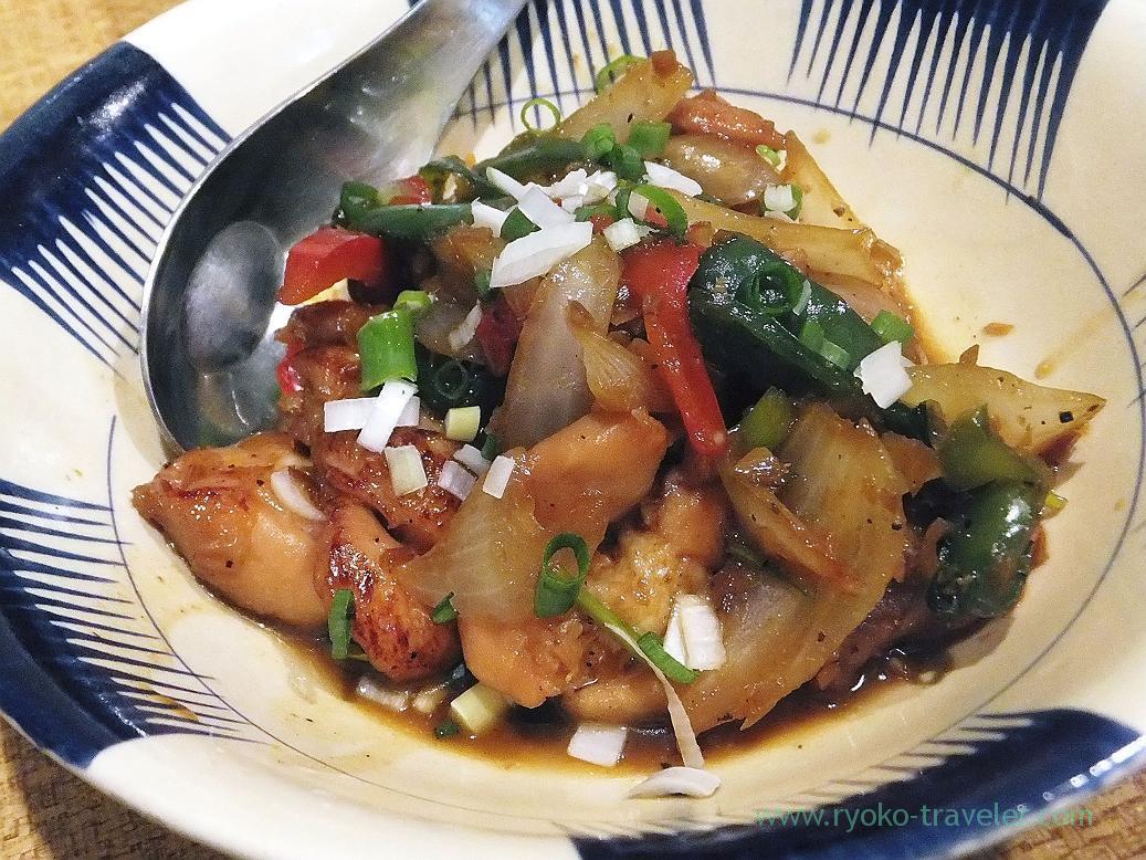 Fried Satsuma-Kojundori chickens with lemongrass and chili, Authentic (Asakusa)