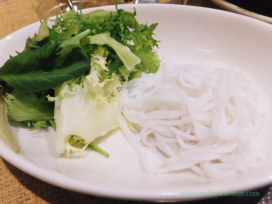 Noodles of Cha ca, Authentic (Asakusa)