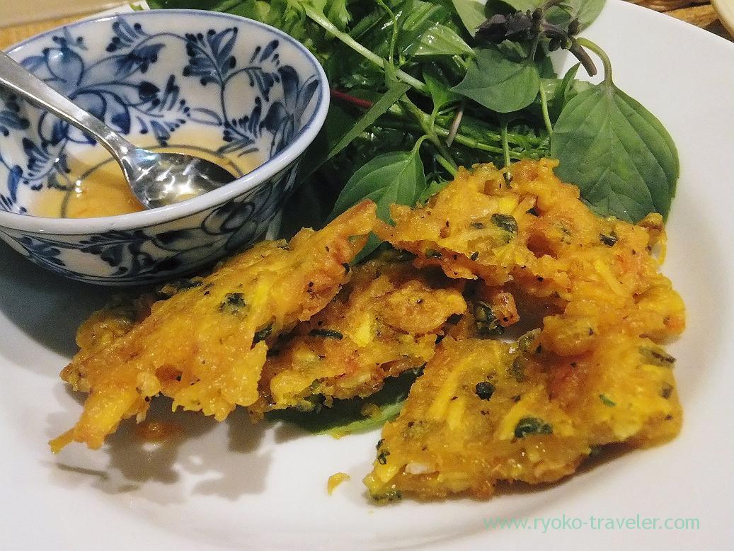 Sakur ashrimps and sweet potatos tempura -vietnam style, Authentic (Asakusa)