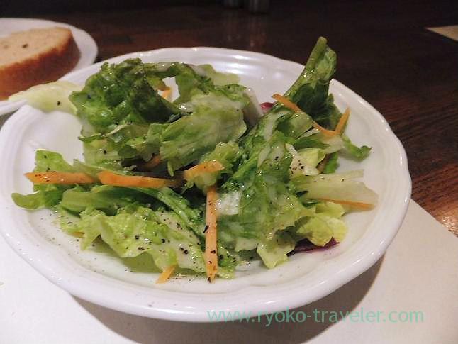 Salad, Sungari Shinjuku Nishiguchi (Shinjuku)