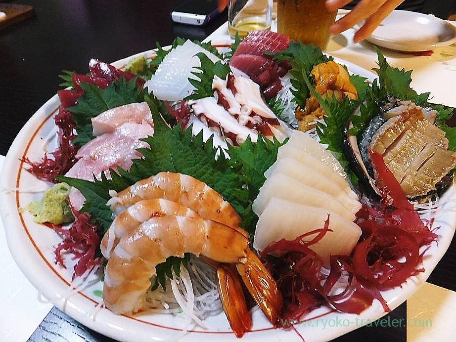 Assorted sashimi, Hajime Sengyo-ten (Tsukiji)