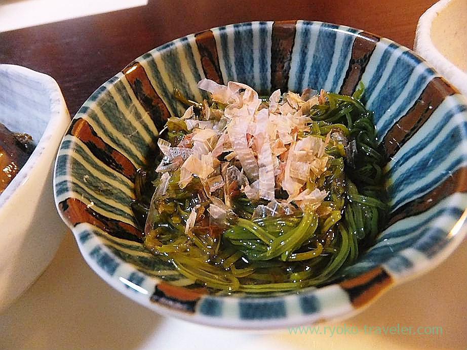 Mekabu seaweed, Hajime Sengyo-ten (Tsukiji)