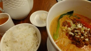 Today's tantanmen :D (Kachidoki)