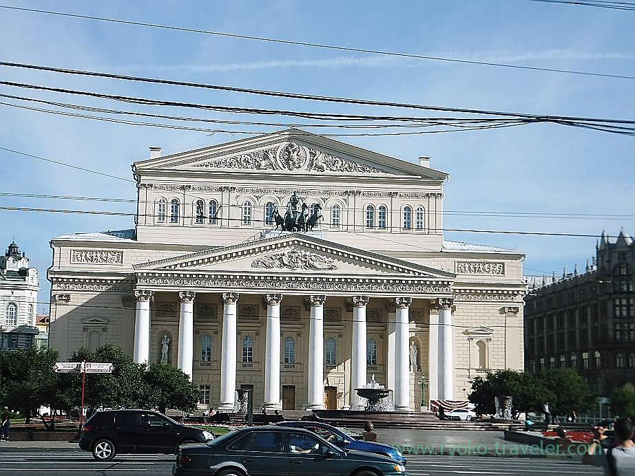 Bolshoi Theater, Moscow (Russia 2012)