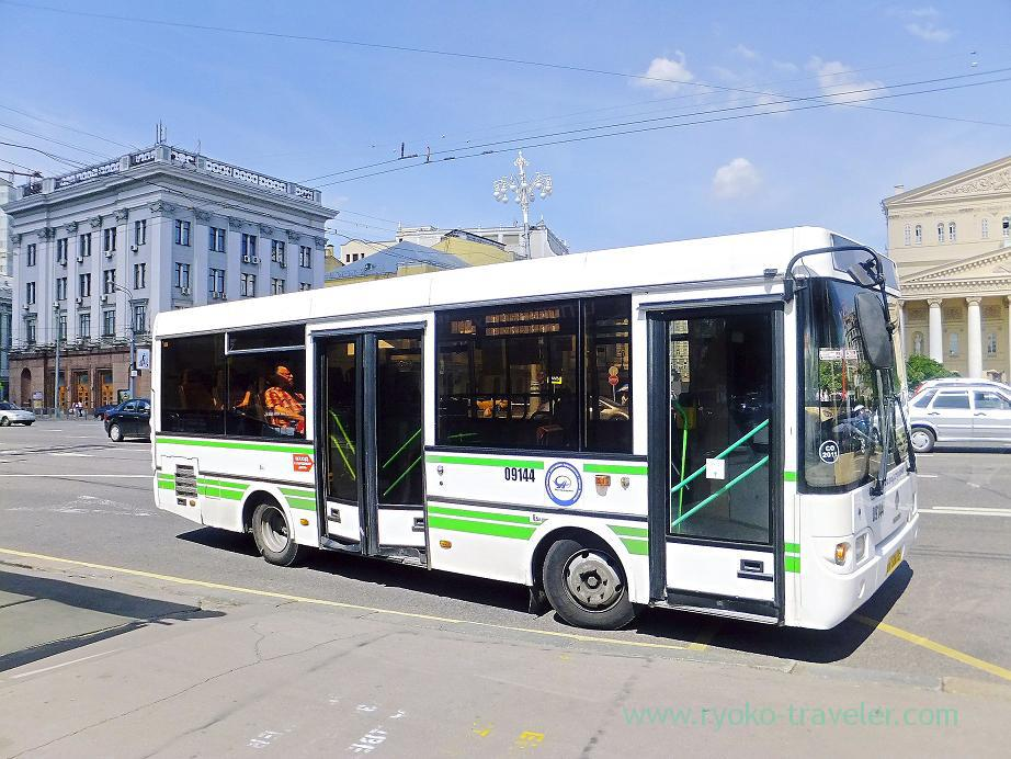Bus, Moscow (Russia 2012)