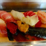 Funabashi : Stand-up-eating sushi restaurant