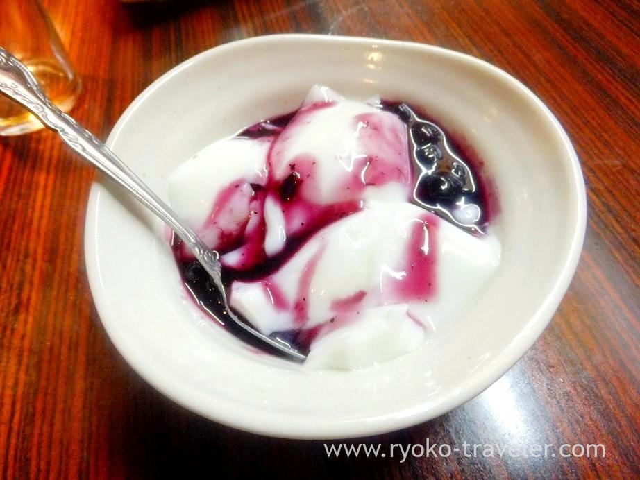 Almond jelly, Shichirin (Minowa)