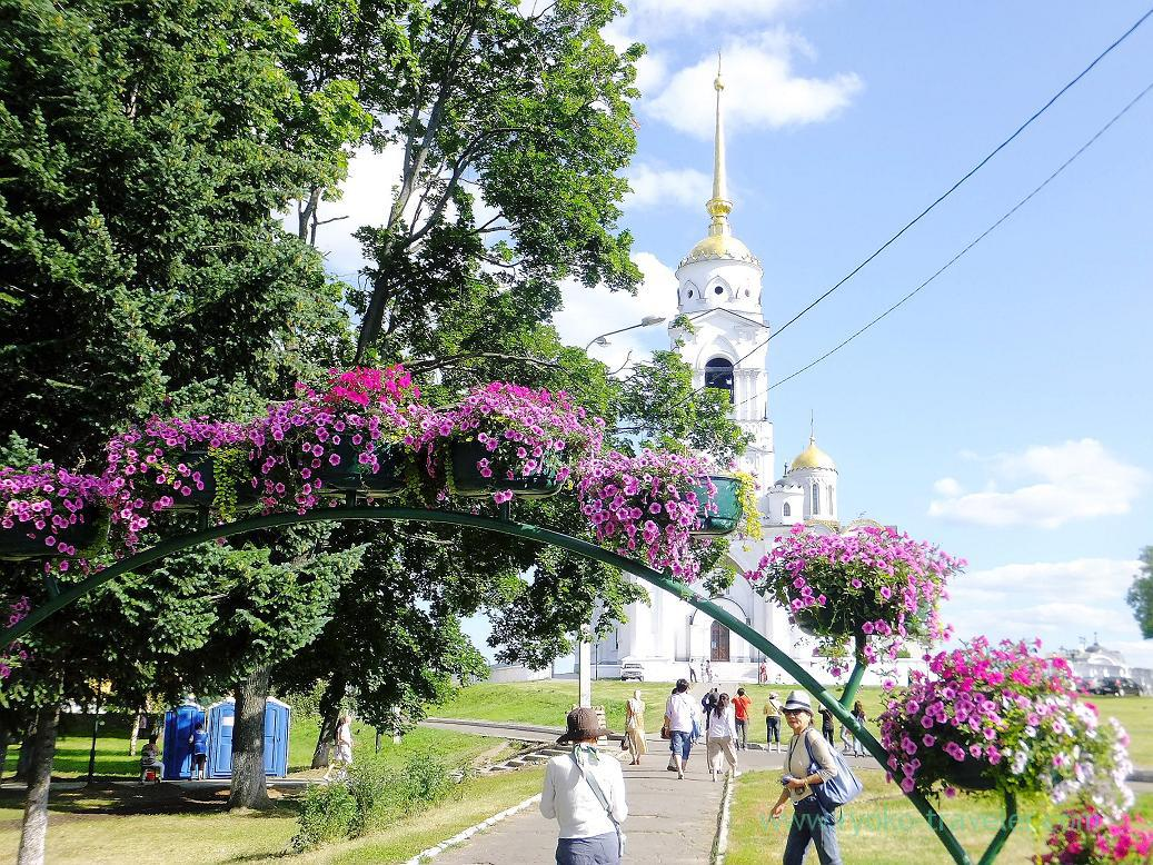 Entrance of Dormition Cathedral, Vladimir (Russia 2012)