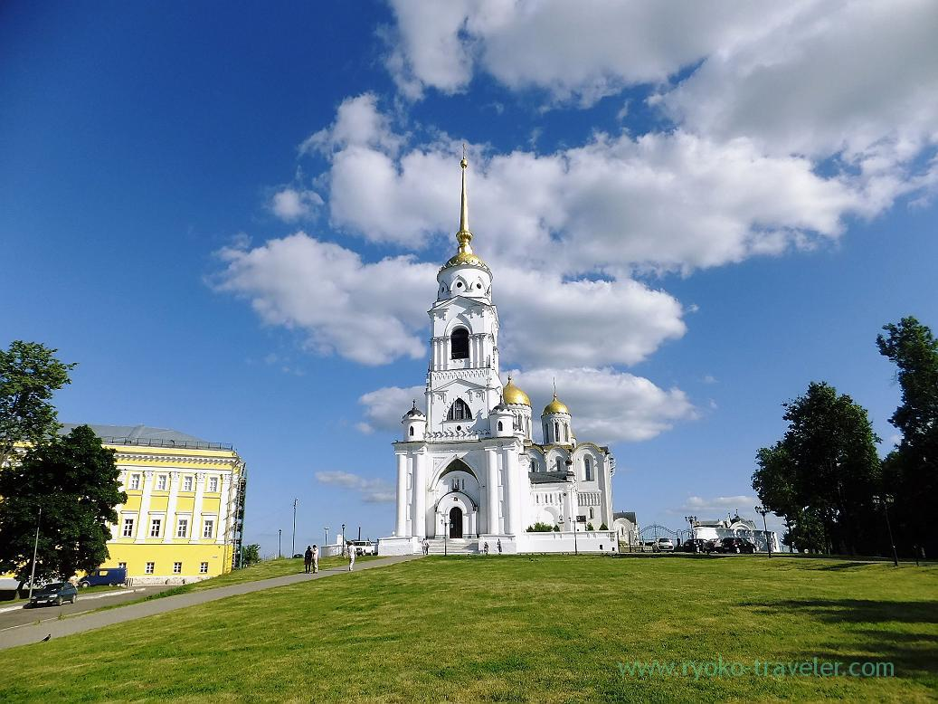 Whole view of Dormition Cathedral, Vladimir (Russia 2012)