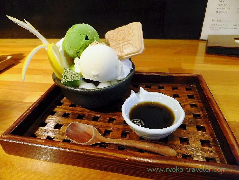 Summer Anmitsu, Hokusai Sabo (Kinshicho)
