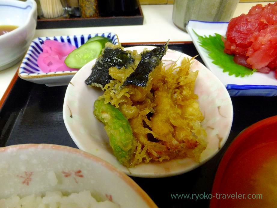 Tempura, Tenfusa (Tsukiji Market)