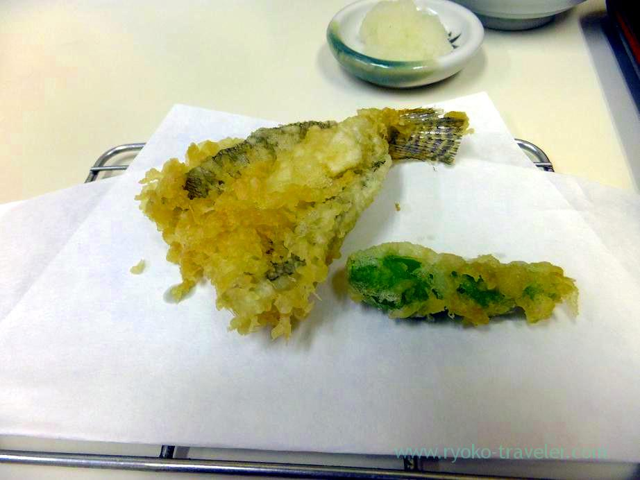 goby tempura, Tenfusa (Tsukiji Market)