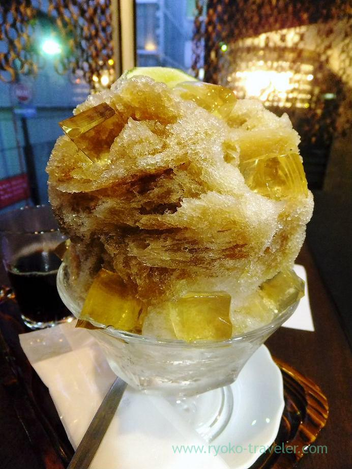 jelly kakigor, Santokudo (Ginza)
