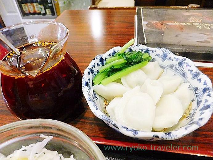 Dumplings, Manzan (Makuhari-Hongo)