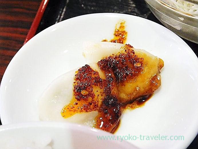 Dumplings with raayu, Manzan (Makuhari-Hongo)