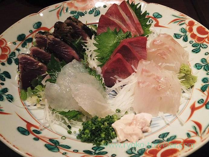 Assorted sashimi, Yamadaya (Tsukiji)