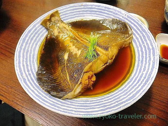 Boiled slime flounder, Takahashi (TSukiji Market)