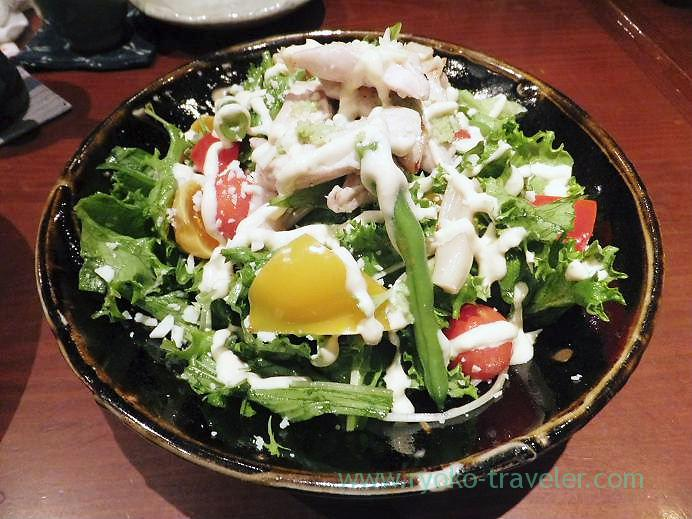 Chicken salad with pecorino cheese flavor, Yamadaya (Tsukiji)