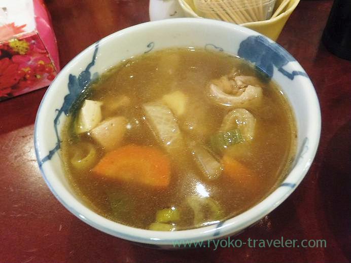 Duck soup, Yonehana (Tsukiji Market)