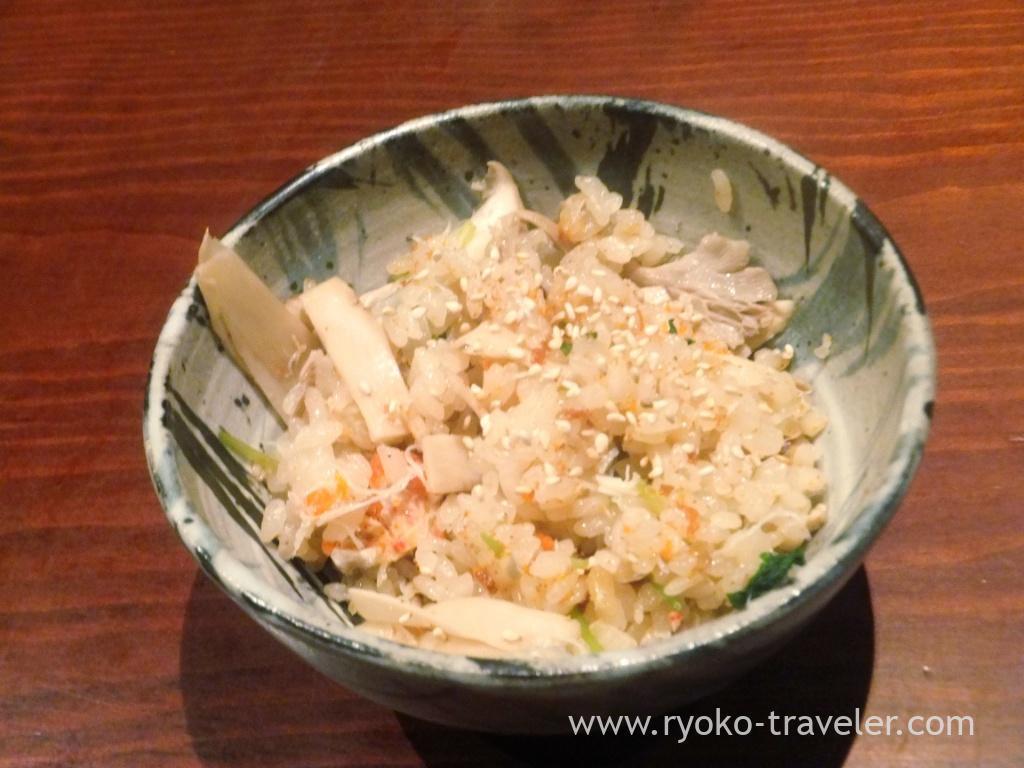 Seikogani rice, Yamadaya (Tsukiji)