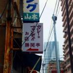Tsukiji,  Kachidoki : Sashimi bowl and deep fried oysters