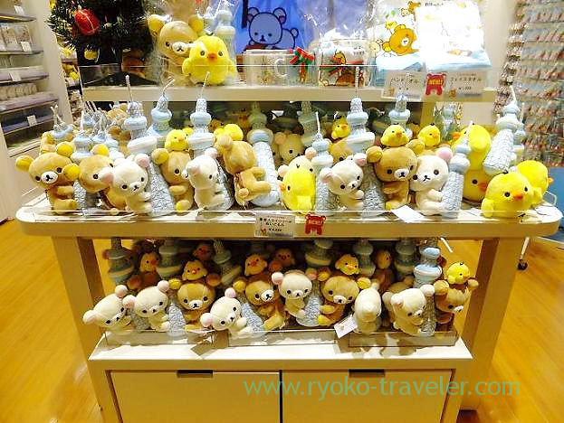 many Rilakkuma, Rilakkuma store (Tokyo Skytree town)
