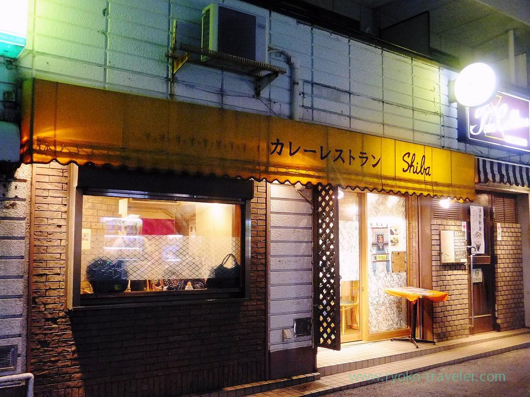 Appearance, Curry restaurant Shiba (Inage)