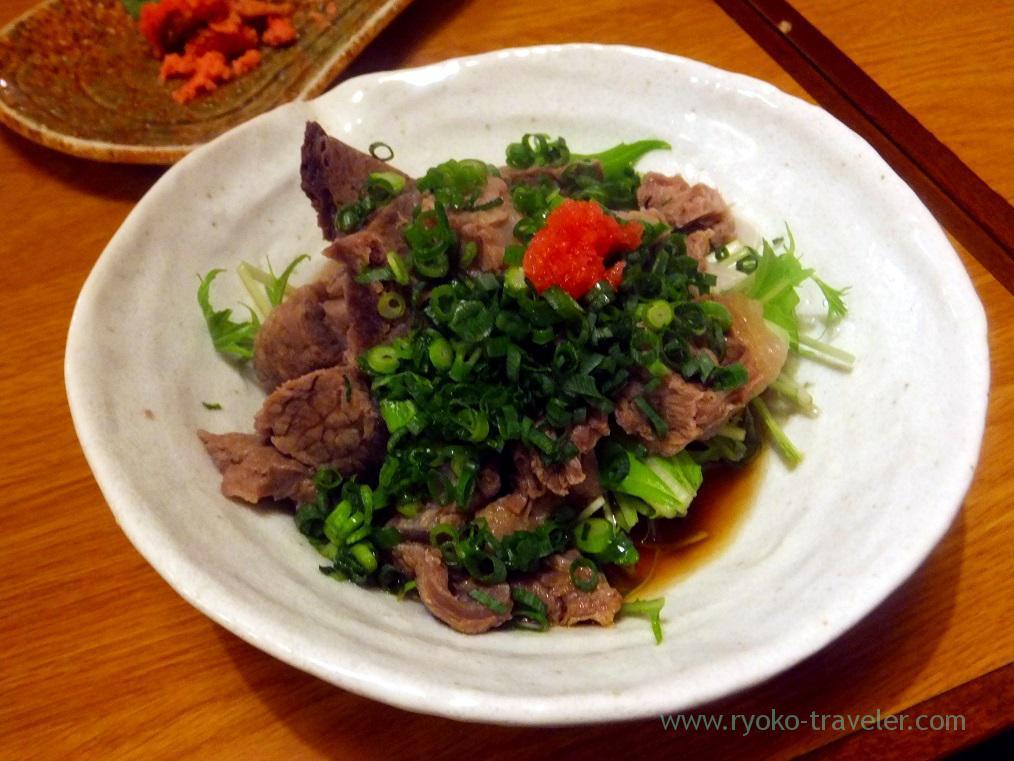 Beef tendon with ponzu, Funakko (Higashi-Funabashi)