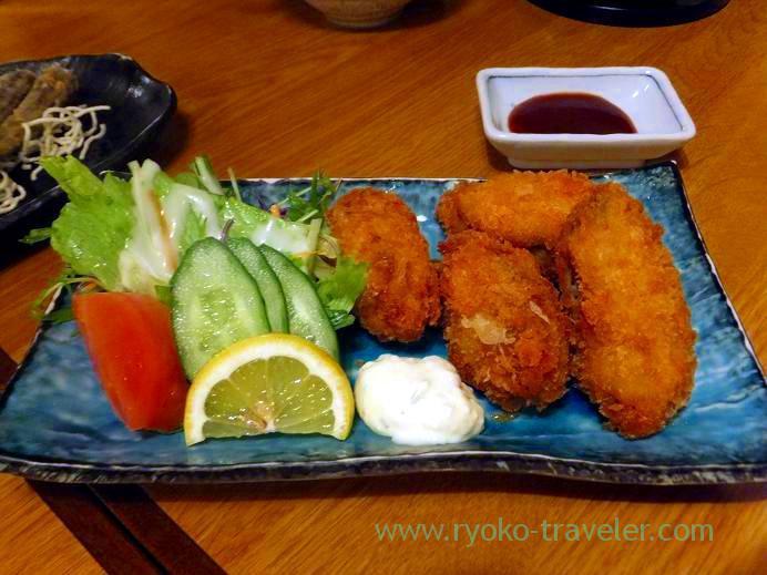 Deep fried Oysters, Funakko (Higashi-Funabashi)